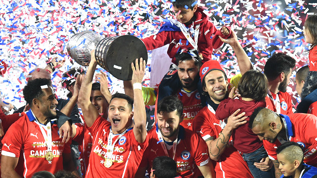 Chile, the champions!
